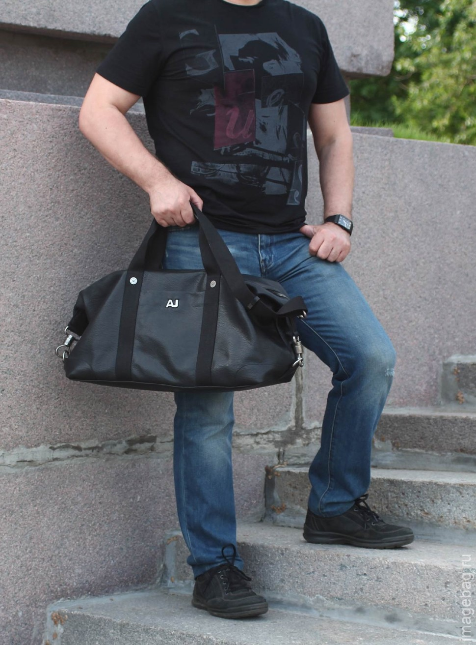 f4f7e4f77b26 Сумка кожаная для фитнеса Armani 078006-366 купить в Казани по супер ...