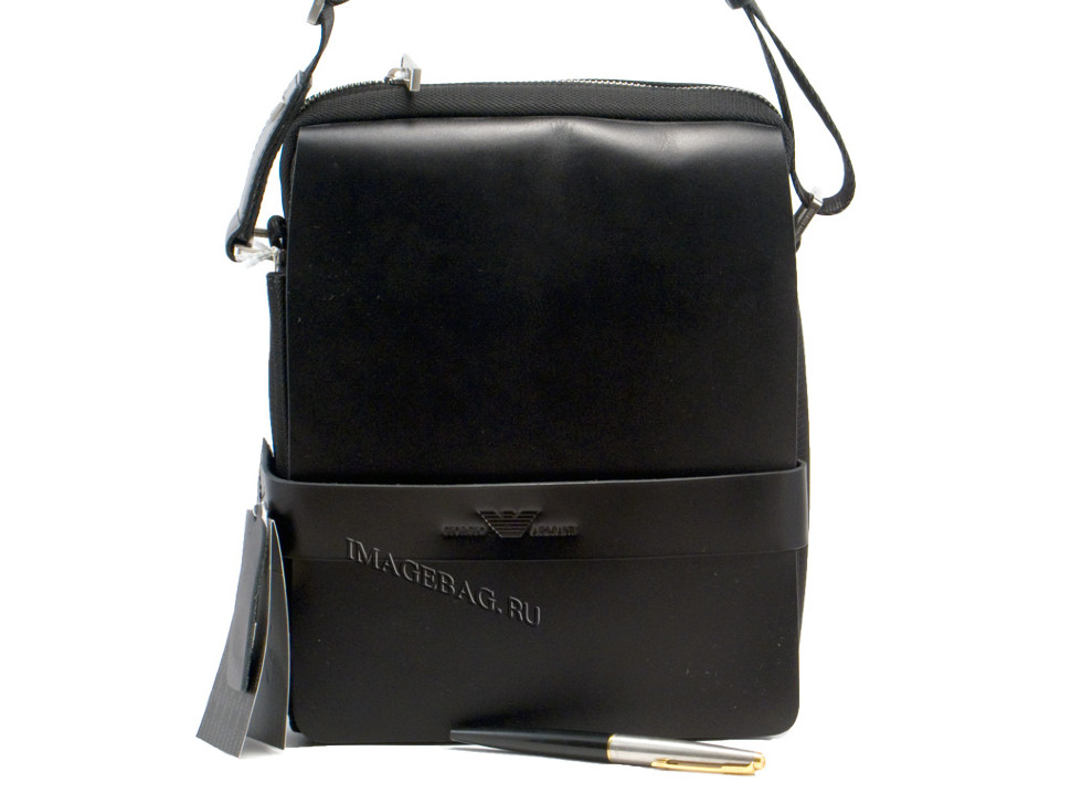 0a627a52b07d Комбинированная плечевая сумка Giorgio Armani 2832 купить в Казани ...